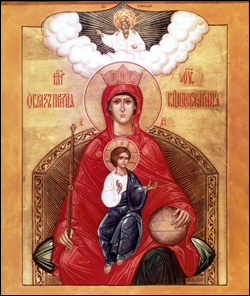 "Icon of the ""Sovereign"" Theotokos"