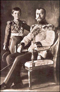 The Tsar and the Tsarevich.