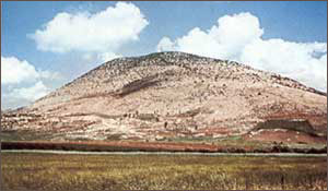 Mount Tabor - the site of the Lord's Transfiguration
