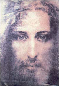 The earthly visage of our Saviour, reconstructed from the Shroud of Turin.